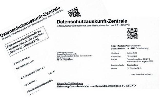 Warnung Vor Datenschutzauskunft Zentrale Willkommen Bei Der